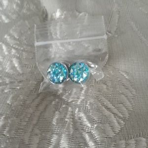 Earplugs sz 0 crystal blue